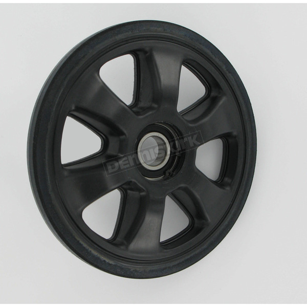 Parts Unlimited Black Idler Wheel w/Bearing - 4702-0091
