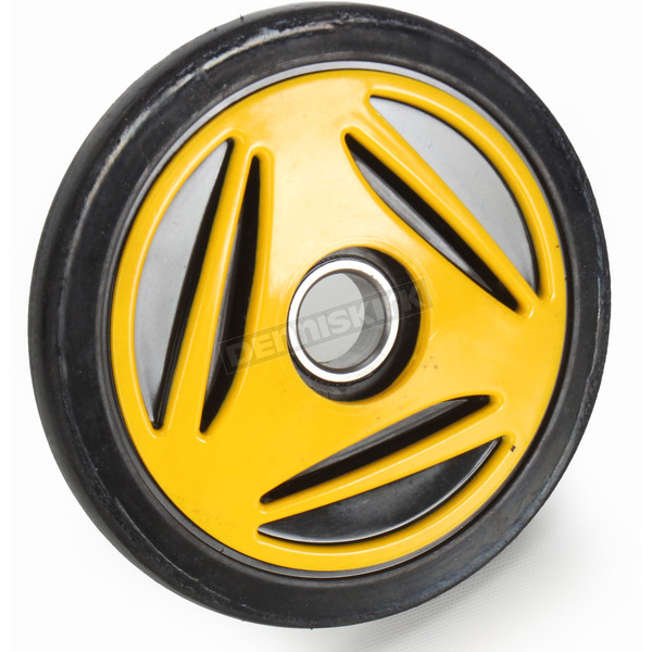 Kimpex Yellow Idler Wheel w/Bearing - 04-0165-28