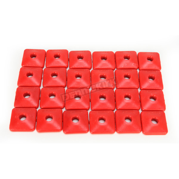 Fast-Trac Air Lite Square Red Backer Plates for 5/16 in. Studs - 205SR-24