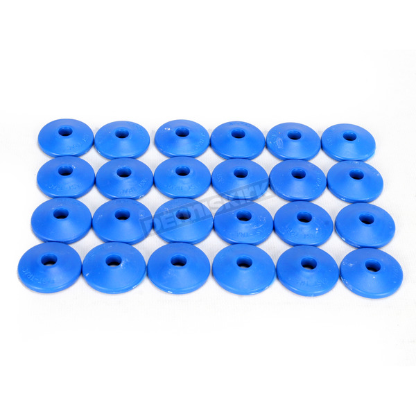 Fast-Trac Air Lite Round Blue Backer Plates for 5/16 in. Studs - 209RB-24