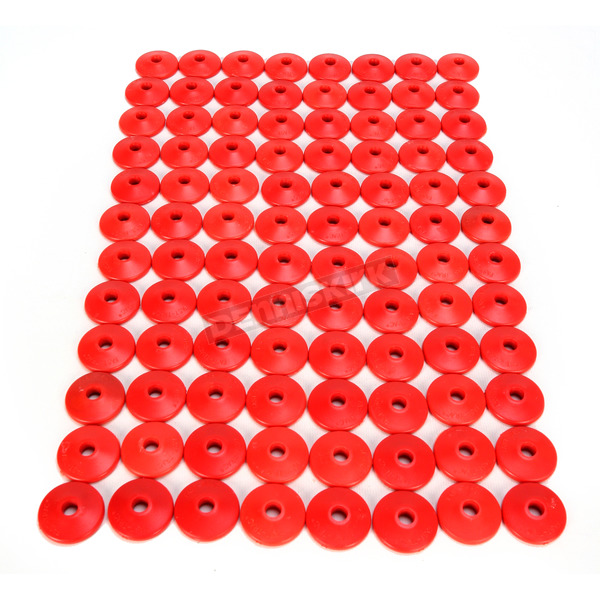 Fast-Trac Air Lite Round Red Backer Plates for 5/16 in. Studs - 213RR-96