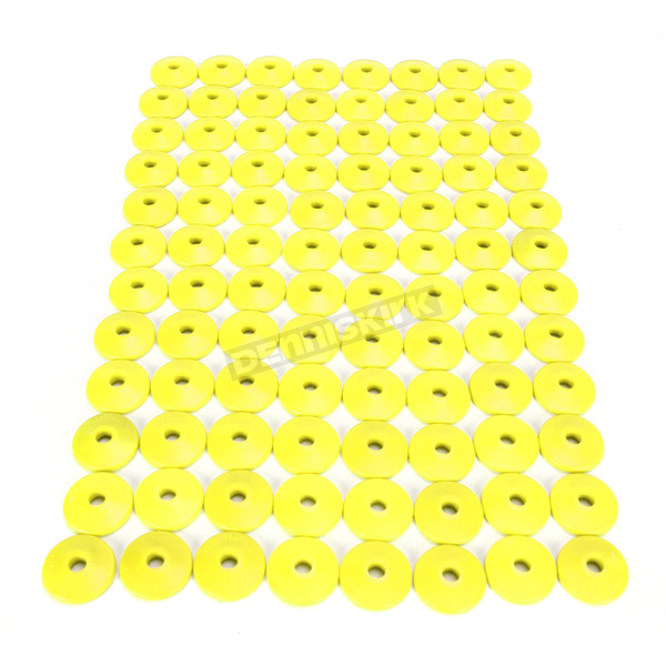 Fast-Trac Air Lite Round Yellow Backer Plates for 5/16 in. Studs - 215RY-96
