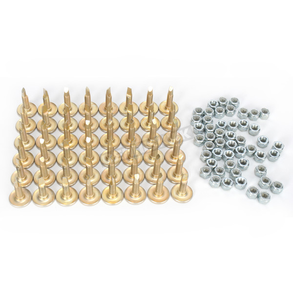 Woodys Chisel Tooth Traction Master Steel Studs - CAP-1205
