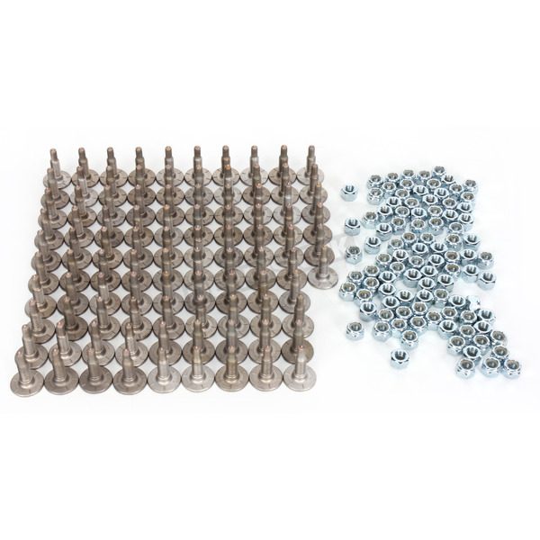 Woodys Signature Series Stainless Steel 1.470 in. Carbide Studs - SSP-1075-B