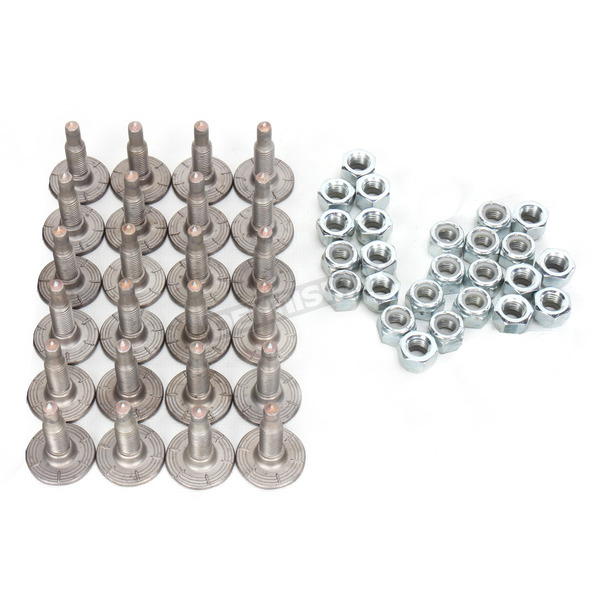 Woodys Signature Series Stainless Steel 1.470 in. Carbide Studs - SSP-1075-A