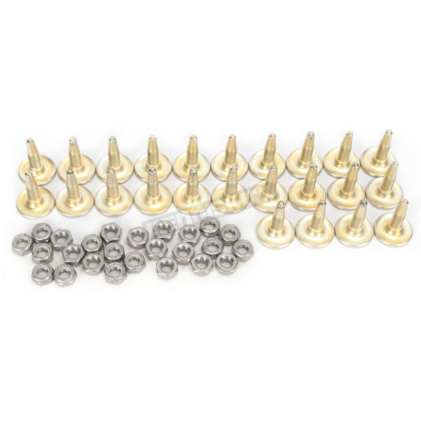 Woodys Gold Digger Traction Master 1.256 in. Long Carbide Studs - GDP6-8755