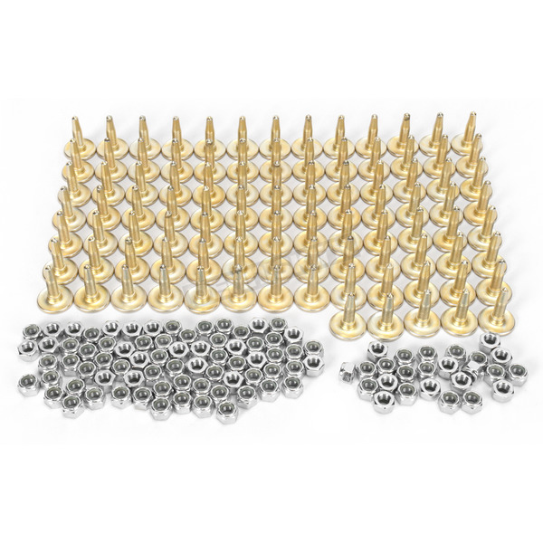Woodys Gold Digger Traction Master 1.598 in. Long Carbide Studs  - GDP6-1175-B