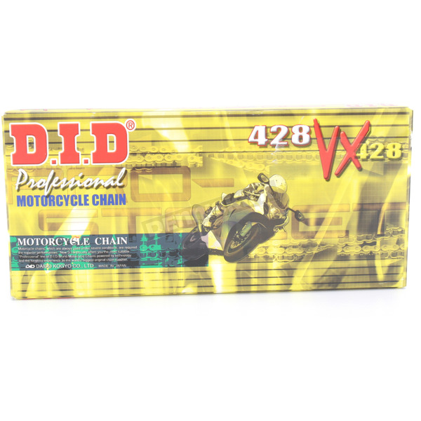 DID 428VX Professional O-Ring Series Chain - 428VXX120FB