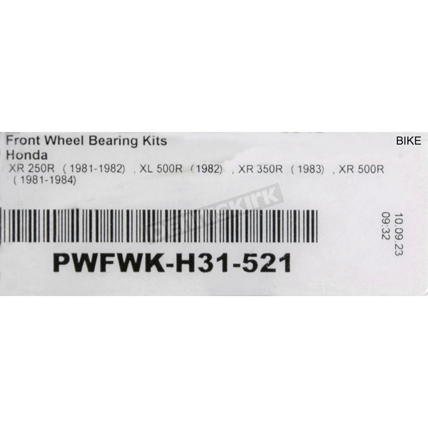 Pivot Works Front Wheel Bearing Kit (Non-current stock) - PWFWK-H31-521