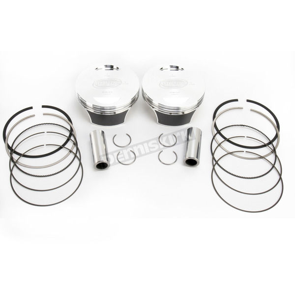 Revolution Performance 107 in. Big Bore Piston Kit - 301-116W