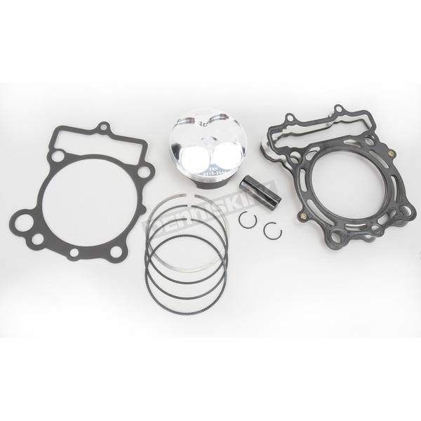 Moose High Performance 14.2:1 4-Stroke Piston Kit - 77mm Std Bore - 0910-2446