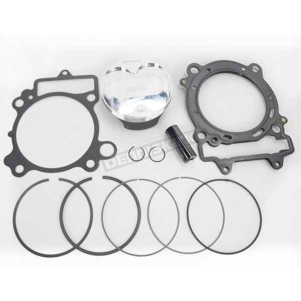 Moose High Performance 14.5:1 4-Stroke Piston Kit - 96mm Std Bore - 0910-2447