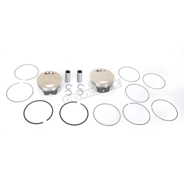 S&S Cycle Replacement Piston Kit for 111 in./117 in./124 in. Motor - 106-3872A