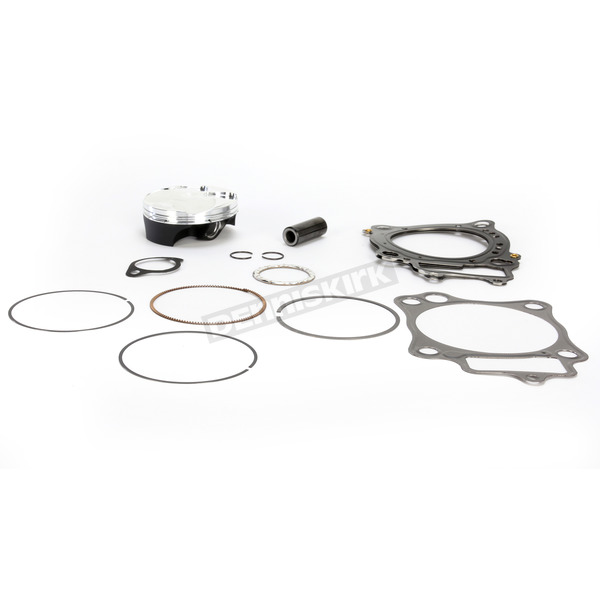 Moose High Performance 14.0:1 4-Stroke Race Piston Kit by CP Pistons - 76.8mm Std Bore - 0910-3662