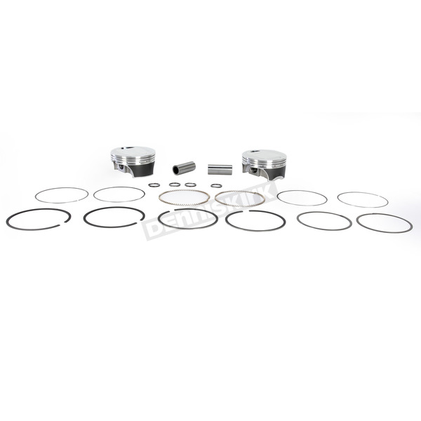 KB Performance Forged Piston Kit - 4.130 in. Bore - KB662C-005