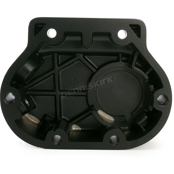Drag Specialties Black Transmission Side Cover - 1107-0355