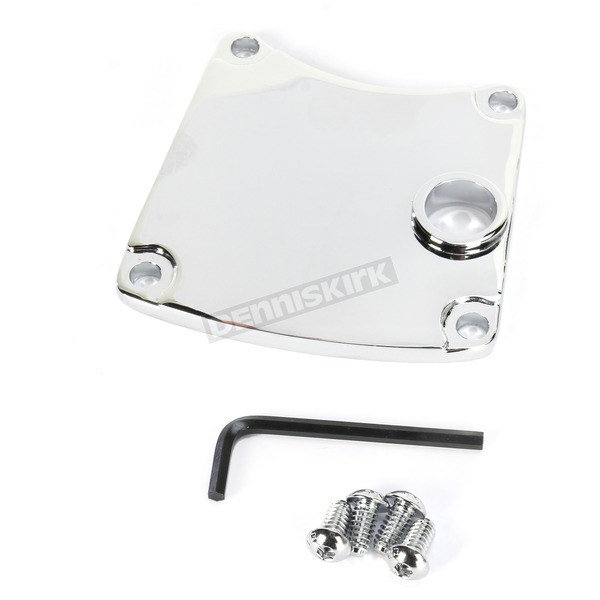 Drag Specialties Chrome Primary Chain Inspection Cover - 1107-0389