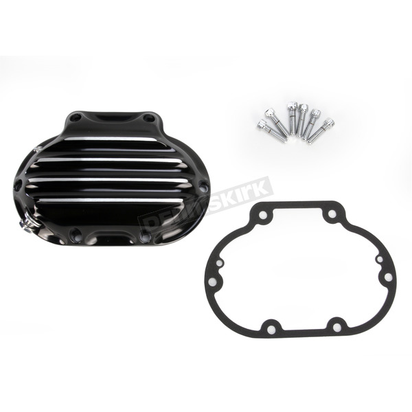Roland Sands Design Contrast Cut Nostalgia Hydraulic Actuated Transmission Cover - 0177-2046-BH