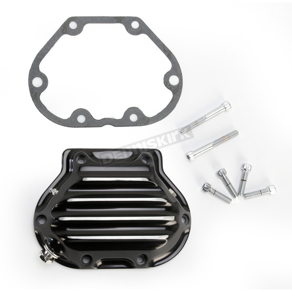 Roland Sands Design Contrast Cut Nostalgia Hydraulic Clutch Actuated Transmission Cover - 0177-2049-BM
