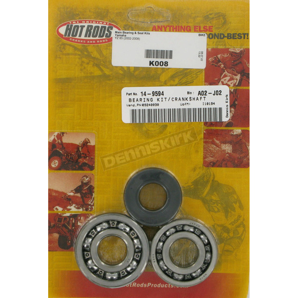 Hot Rods Main Bearing and Seal Kit - K008