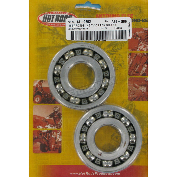 Hot Rods Main Bearing and Seal Kit - K014