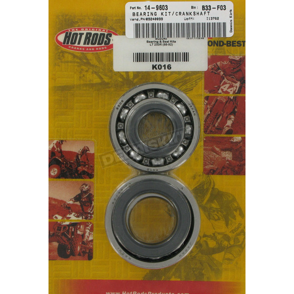 Hot Rods Main Bearing and Seal Kit - K016