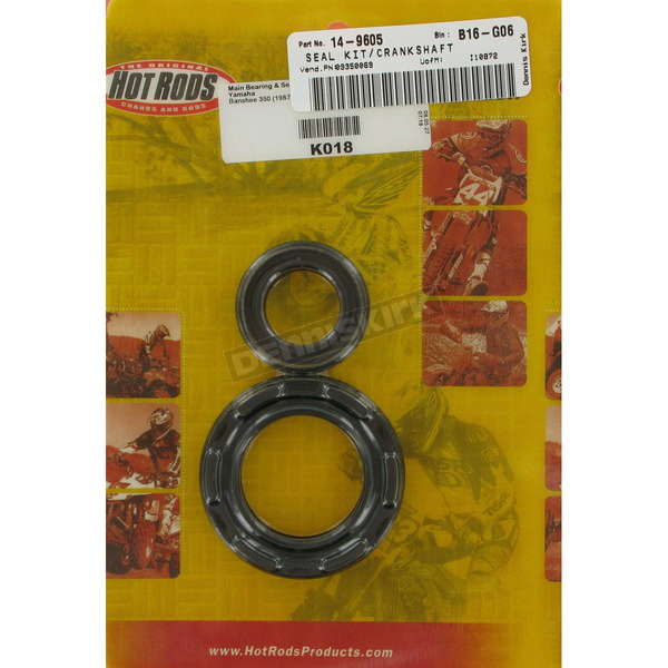 Crankshaft Bearing Seals - K018