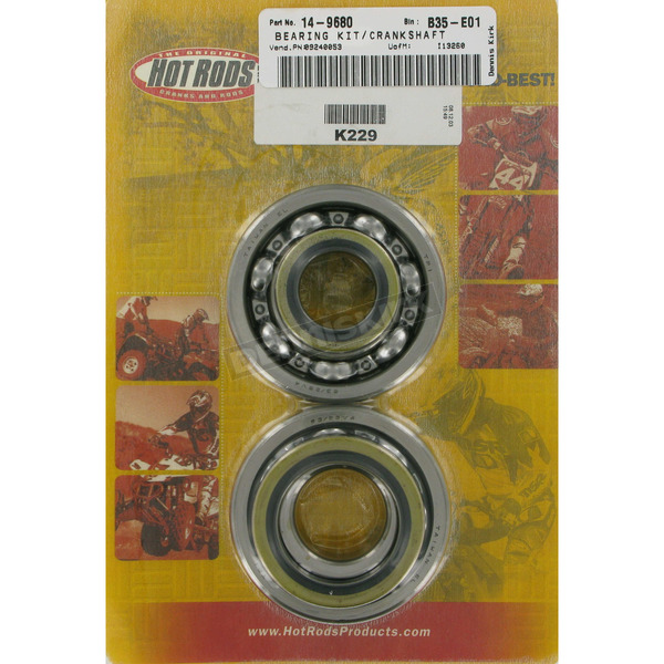 Hot Rods Main Bearing and Seal Kit - K229