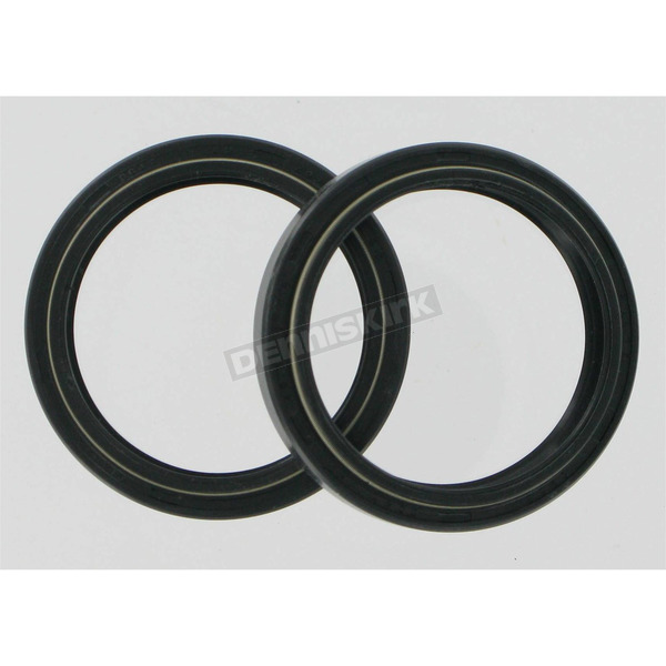 Parts Unlimited Fork Seals for Showa 43mm Upside Down Forks - 43mm x 54mm x 9.5mm - 0407-0130