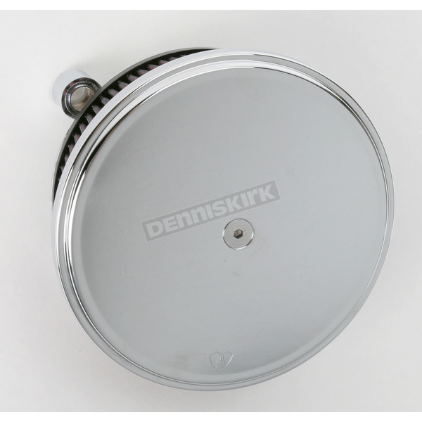 Arlen Ness Chrome Big Sucker Stage II Performance Air Cleaner Kit w/Smooth Steel Cover  - 18-783