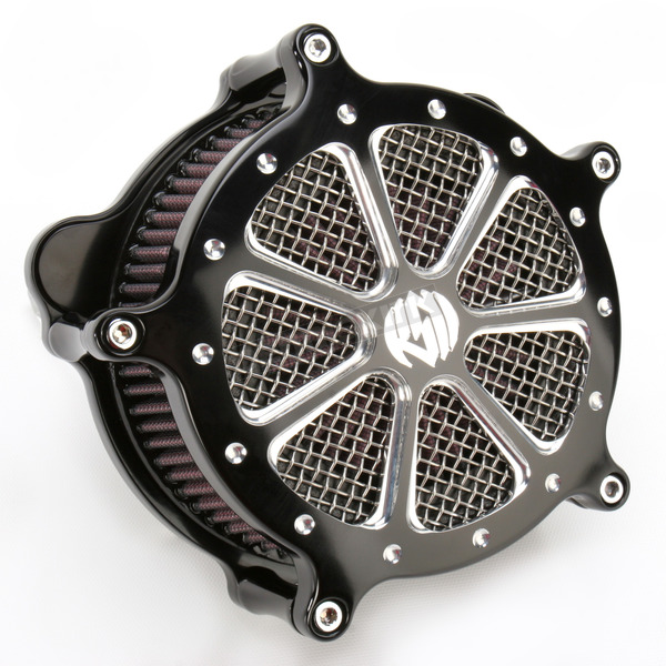 Roland Sands Design Platinum Cut Venturi Speed 7 Air Cleaner - 0206-2003-BMP