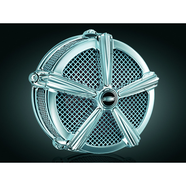 Kuryakyn Hi-Five Mach 2 Air Cleaner Assembly Only - 9451