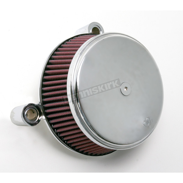 Arlen Ness Chrome Stage I Big Sucker Performance Air Cleaner Kit w/Standard Filter - 18-321