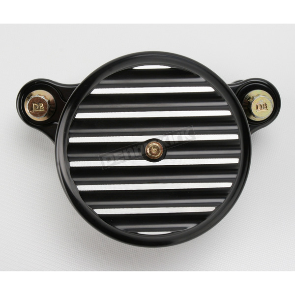 Joker Machine Black Anodized Finned Air Cleaner Assembly - 10-202B