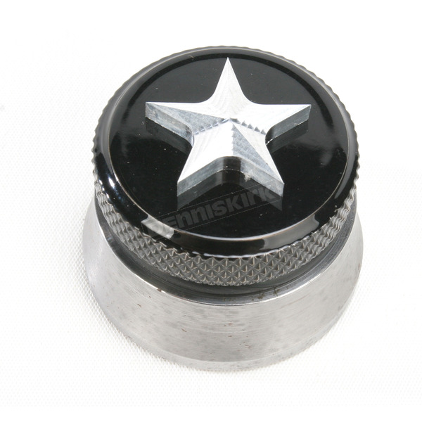 NYC Choppers Polished Nautical Star Spinner Gas Cap - NSPLSHWELD