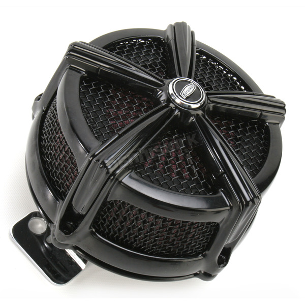 Kuryakyn Black Hi-Five Mach 2 Air Cleaner Kit - 9551