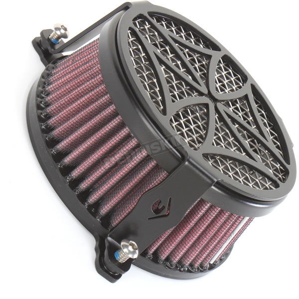 Cobra Black Cross Air Cleaner - 06-0119-02B