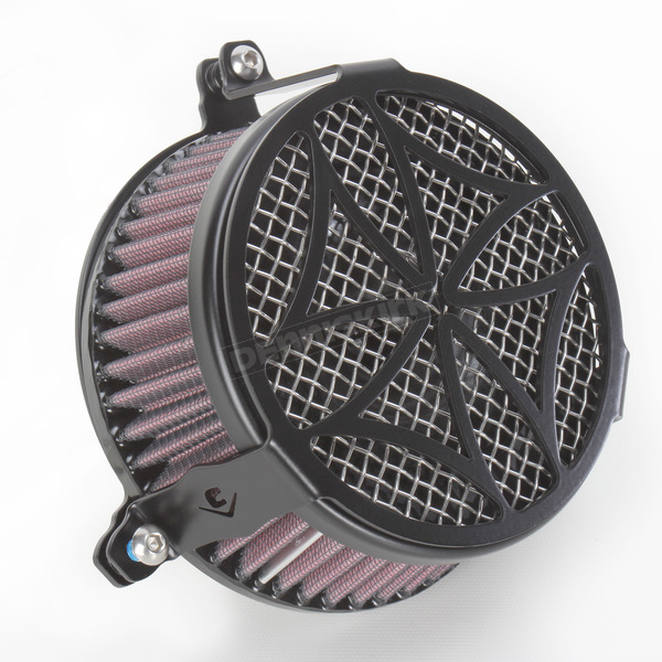 Cobra Black Cross Air Cleaner - 06-0270-02B