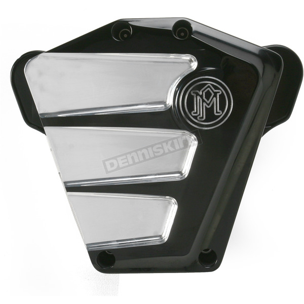 Performance Machine Platinum Cut Scallop Air Cleaner - 0206-2083-BMP