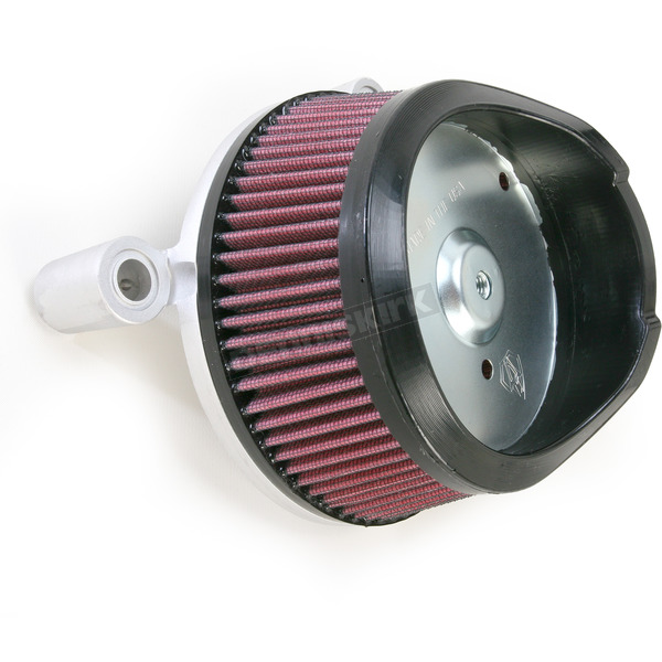 Arlen Ness Plain Stage I Big Sucker Performance Air Cleaner Kit w/Standard Filter - 18-440