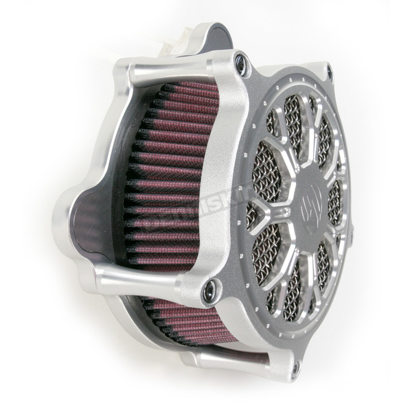 Roland Sands Design Machine Ops Delmar Venturi Air Cleaner - 0206-2095-SMC