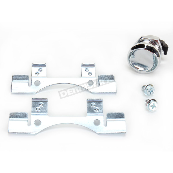 Drag Specialties Chrome Gas Door Latch - 0703-0631