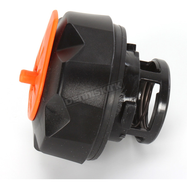Tuff Jug Black w/Orange Quick Fill Fuel Cap - QCKTMO