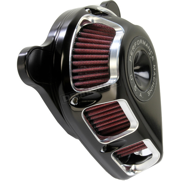 Performance Machine Contrast Cut Jet Air Cleaner - 0206-2113-BM