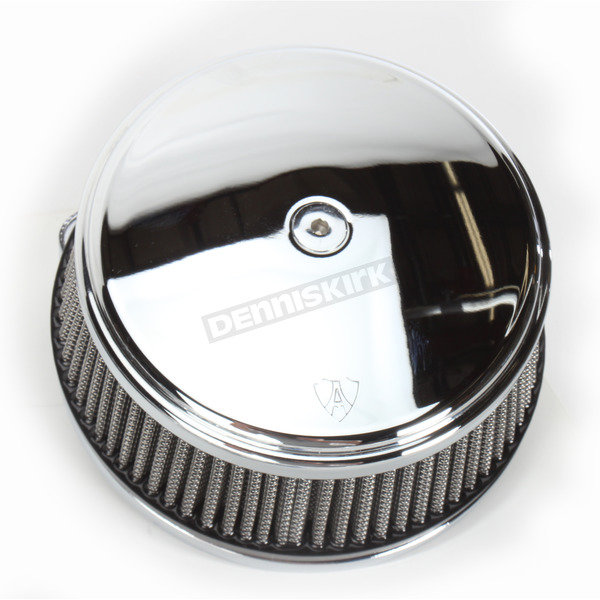 Arlen Ness Big Sucker Stage 1 Air Filter Kit w/Chrome Steel Cover - 50-334