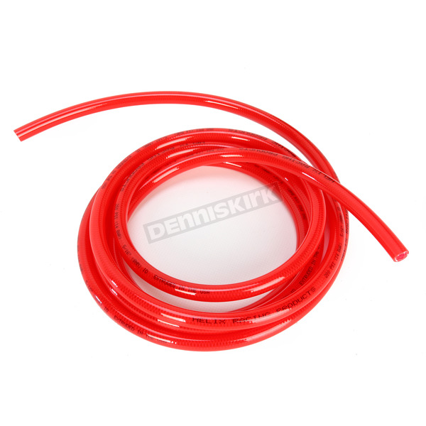Helix Racing Products Red 5/16 in. High Pressure Fuel Line - 10 Feet - 516-0203