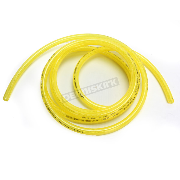 Helix Racing Products Yellow 5/16 in. High Pressure Fuel Line - 10 Feet - 516-0204