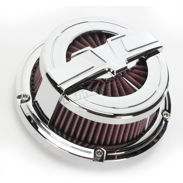 Bahn Chrome Air Cleaner Kit - 9585