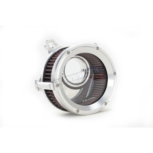Trask Raw Machined Assault Charge High-Flow Air Cleaner - TM-1021R