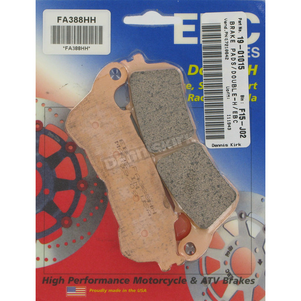 EBC Double H Sintered Metal Brake Pads - FA388HH